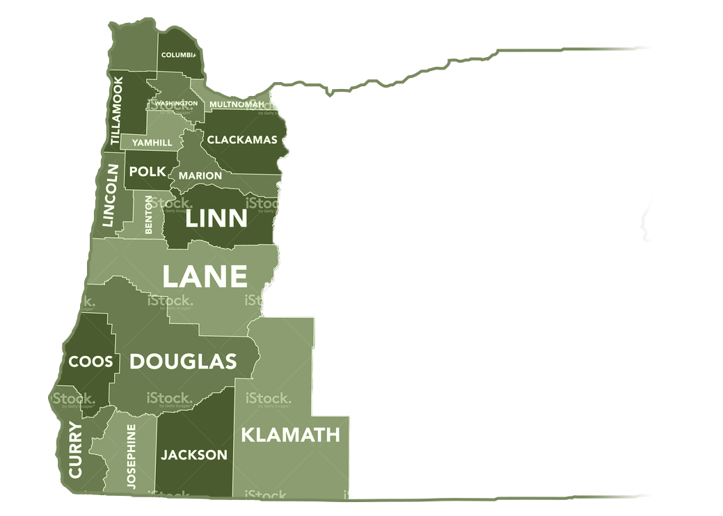 Home map of oregon map of oregon